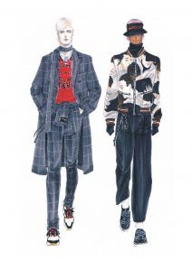 Fashion Drawing for Menswear